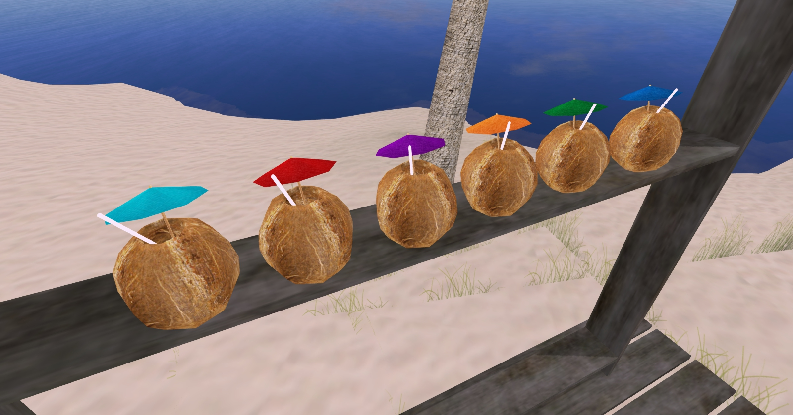 Coconut Cocktails Second Life