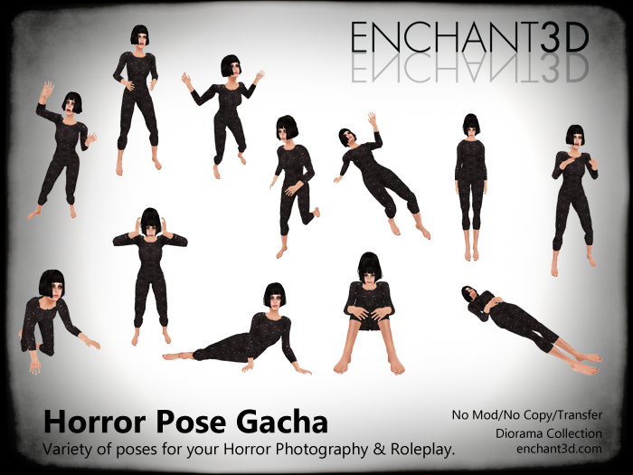 Enchant3D Horrorfest Pose Gacha