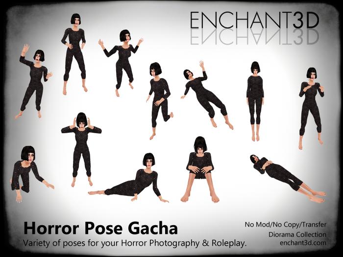 Enchant3D Horrorfest Pose Gacha