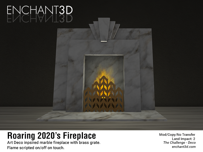 enchant3D_roaring2020fireplace_promo